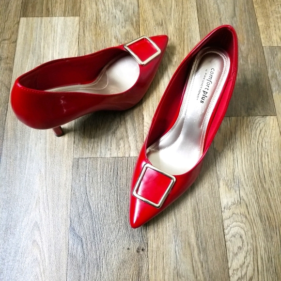 Comfort Plus by  Prediction Red Pumps